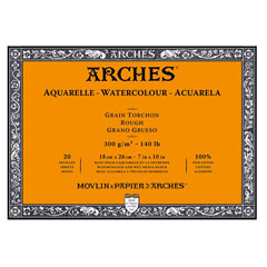 Blocco ARCHES® Aquarelle Watercolour Rough - sceglie formato