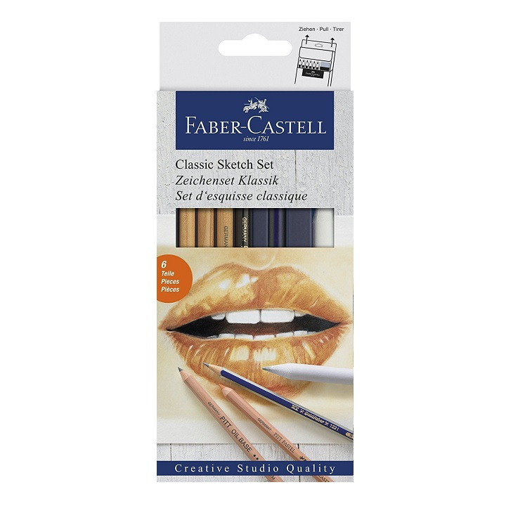 Goldfaber Classic Sketch Set Faber Castell misto - conf. 6