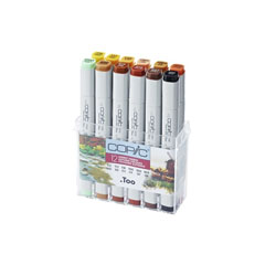 Pennarelli COPIC Classic Autumn Colours - conf. 12 pezzi