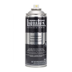 Vernice finale in spray lucida Liquitex 400 ml