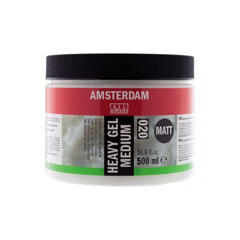Gel medium opaco 020 Amsterdam Heavy - 500 ml