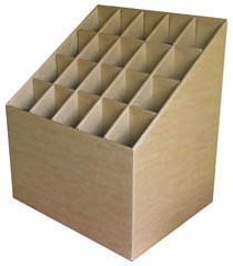 Cavalletto in cartone per tubi leniar for Tubi in cartone