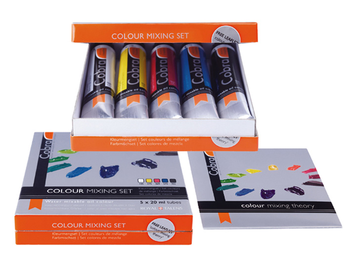 Cobra Study set di colori a olio Set 5x20ml