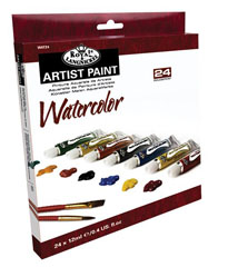 Colori ad acquerello ARTIST Paint 24x12ml