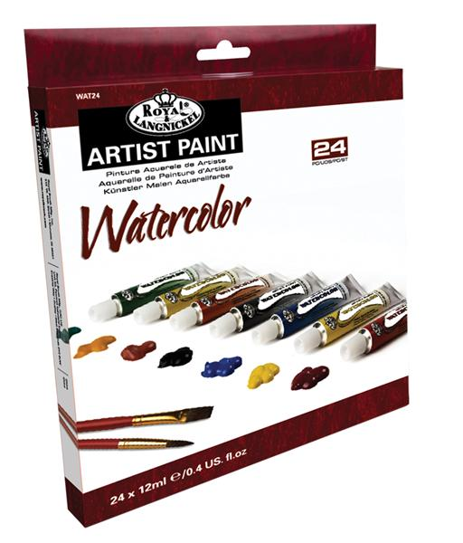 Colori ad acquerello ARTIST Paint 24x12ml -35%