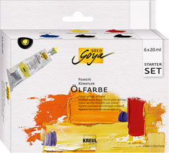 Colori ad olio Finest Artists Solo Goya Starter Set 6x20 ml