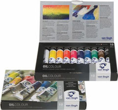Colori ad olio Van Gogh START Set 10x20ml