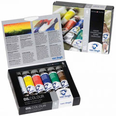 Colori ad olio Van Gogh Start SET 6x20 ml