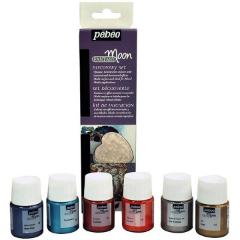 Colori Pebeo Fantasy Moon Discovery set - 6 x 20 ml