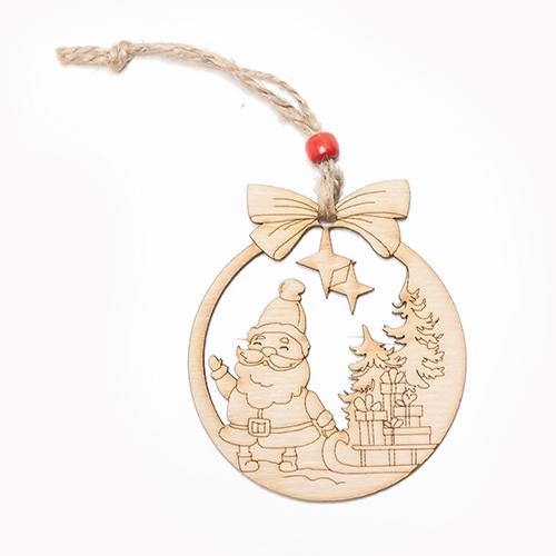Decorazioni natalizie in legno confezione di 5 pezzi - Decorazioni natalizie in legno ...