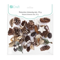 Decorazioni natalizie naturali MIX 50g