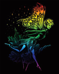 Engraving art™ - Dancing Fairy