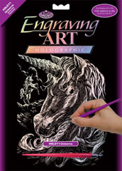 Engraving art™ - Unicorni