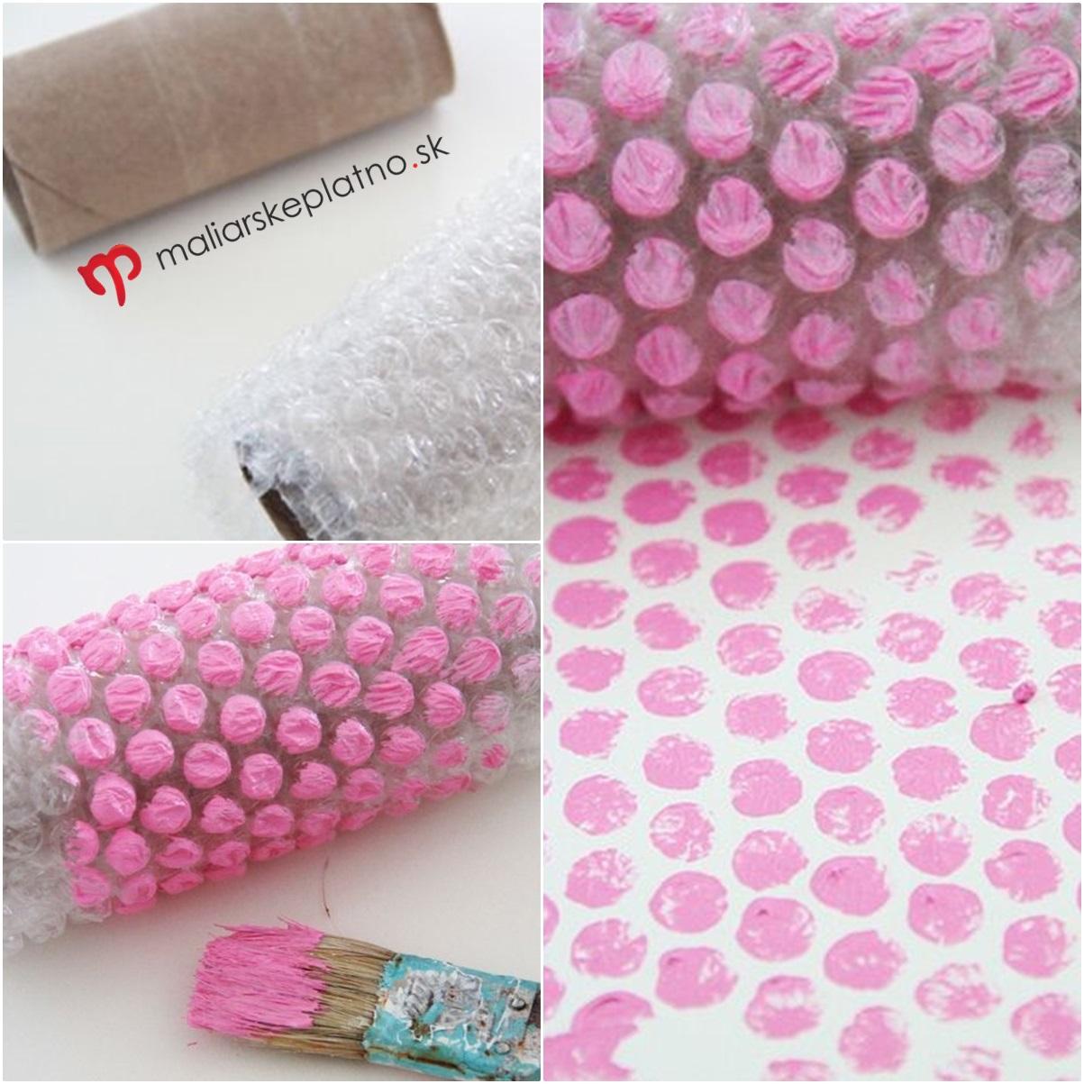 Fogli di plastica a bolle d aria