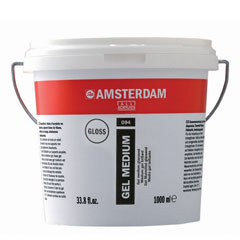 Gel medium brillante AMSTERDAM 1000ml