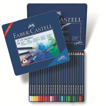 Matite Colorate ART GRIP Aquerell Astuccio metallo24 (#114224)