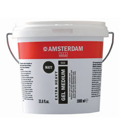 Medium opaco AMSTERDAM extra Heavy 1000ml
