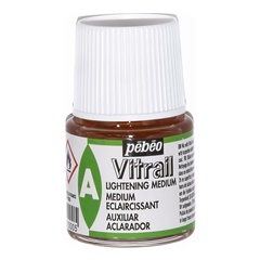 Medium per illuminazione Pebeo Vitrail 45 ml