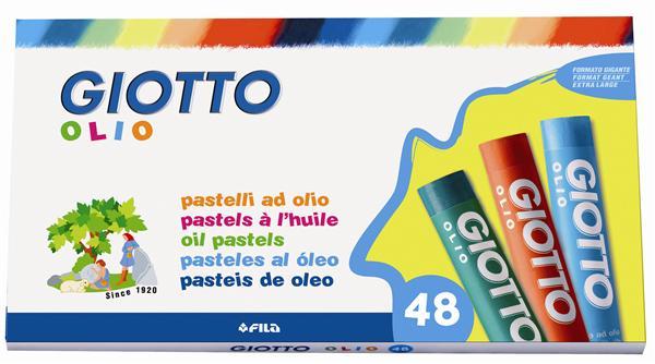 Pastelli ad olio giotto olio set 48 colori for Colori ad olio professionali