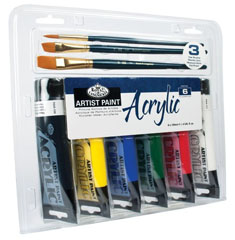 Set acrilico Artist Paint Royal & Langnickel - 9 pezzi