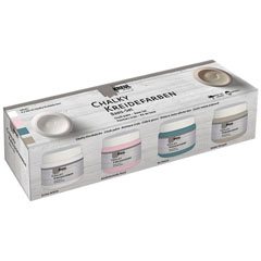 Set dei colori Chalk paint Kreul Basic set 4 x 150 ml