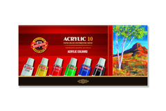 Set di colori acrilici 10X16ML