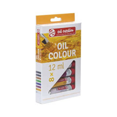 Set di colori ad olio Royal Talens ArtCreation / 8 x 12 ml