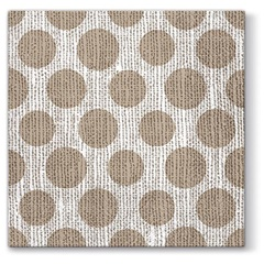 Tovagliolo per decoupage Dots on Linen - 1 pz