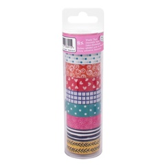 Washi nastro Craft Sensations - 8 pezzi