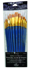 Zip n' Close Set - Medium Golden Taklon 12 Pennelli SET-9313